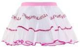 Pate De Sable Cristal Plume Tiered Skirt