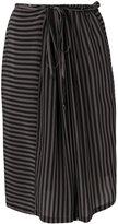 Humanoid striped skirt - women - Silk - S