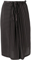 Humanoid striped skirt