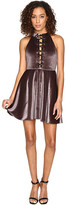 Romeo & Juliet Couture Lace-Up Dress