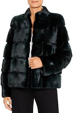 Maximilian Furs Mink Fur Short Coat - 100% Exclusive