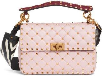 Valentino Spike It Leather Shoulder Bag