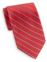 Saks Fifth Avenue Pinstripe Silk Tie