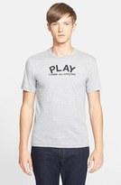 Comme des Garcons Men's Logo Graphic T-Shirt