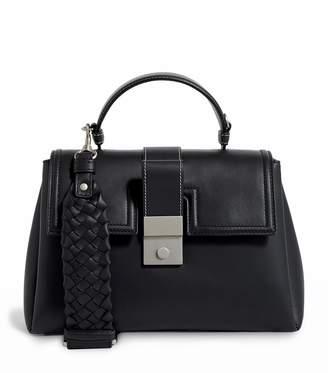Bottega Veneta Small Leather Piazza Top Handle Bag