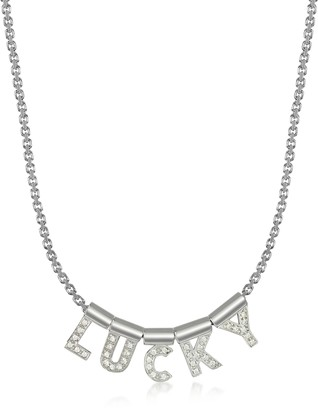 Nomination Sterling Silver and Swarovski Zirconia Lucky Necklace
