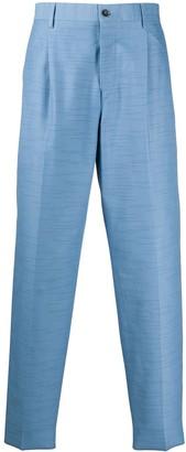 Missoni High-Waisted Straight Leg Trousers