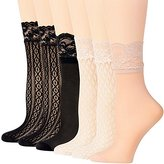Peds Women's Trouser Socks, 6 Pairs