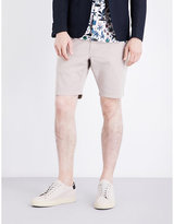 Ps By Paul Smith Regular-fit Mid-rise Stretch-cotton Shorts