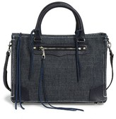 Rebecca Minkoff Regan Denim Satchel - Blue
