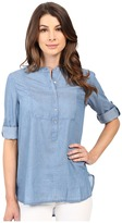 Calvin Klein Jeans Chambray Henley Tunic