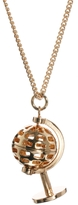 Asos Modern Globe Necklace