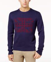 Ben Sherman Men's Union Jack Jacquard Sweater
