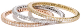 MINED 14k Gold & Diamond Eternity Band, Assorted Colors