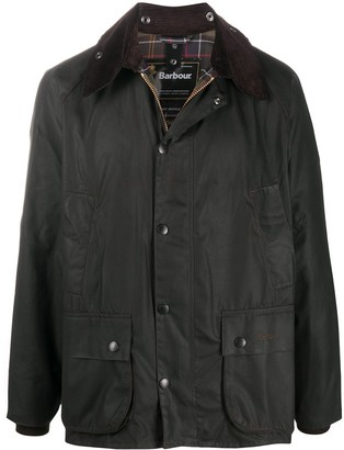 Barbour Bedale snap-fastening jacket