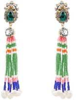 Shourouk Mambo tassel earrings