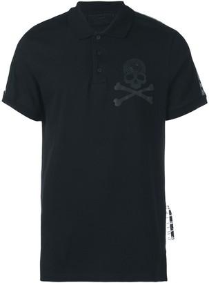 Philipp Plein Skull Logo Polo Shirt