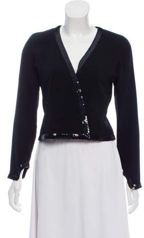 Chanel Sequined Wool Jacket