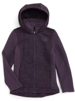 The North Face Girl's Indi 2 Hooded Knit Parka