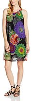 Desigual Women's Aya A-Line Sleeveless Dress,Size 10 (Manufacturer Size:)