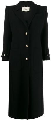 Fendi Single Breasted Coat
