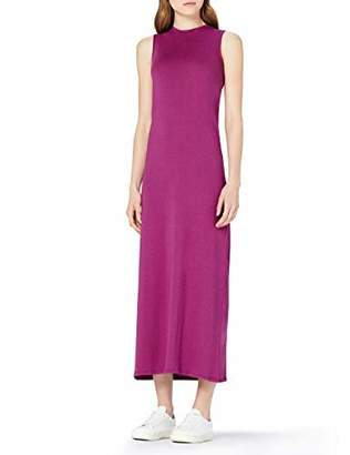 MERAKI Women's Summer T-Shirt Maxi Dress,(Size: Medium)