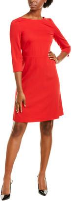 Escada Sport Dacordasan Wool-Blend A-Line Dress