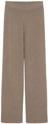 The Frankie Shop Rib Knit Lounge Pants