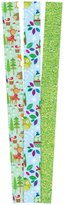 The Gift Wrap Company Holiday Hoot and Follies Premium Gift Wrap Paper - Green/Blue - 3ct ct