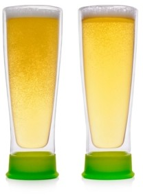 Epare 13 Oz. Beer Glass with Silicone Base- Set of 2