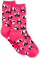 Hot Sox Women's Panda Bear Socks