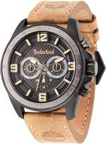 Timberland Gents Beige Leather Strap Watch