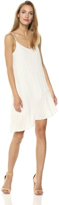 MinkPink Women's Pin Stripe Assymetric Dress