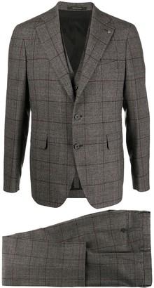 Tagliatore Two-Piece Windowpane Check Suit