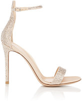 Gianvito Rossi Women's Glam Ankle-Strap Sandals-NUDE
