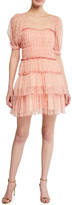 Jonathan Simkhai Collection Delilah Tiered Floral Tulle Dress