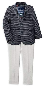 Andy & Evan Baby Boy's 2-Piece Jacket & Trousers Set