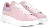 Alexander McQueen Suede platform sneakers