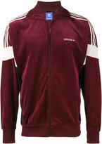adidas CLR84 velour track jacket - men - Cotton/Polyester - S