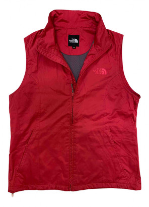 The North Face Red Polyester Jackets