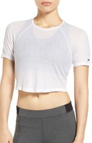 Ivy Park Women's Vent Back Crop Tee