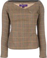 Ralph Lauren checked blouse