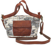 Latico Leathers Leather Women's Totebags CAMO - Gray & Beige Camo Oba Leather Tote