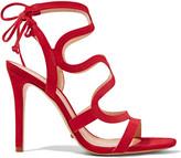 Schutz Lacie cutout suede sandals