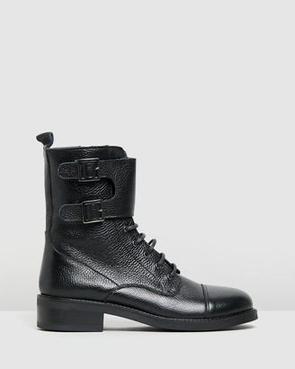 Jonak Audore Leather Ankle Boots