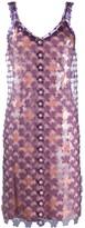Paco Rabanne Paillette-Embellished Shift Dress