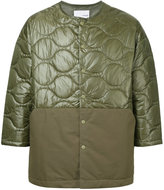 Yoshio Kubo quilted fitted jacket