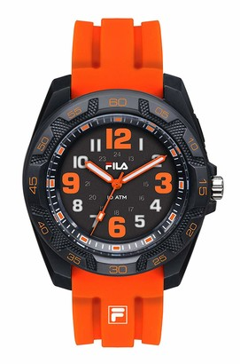 Fila Unisex Adult Analogue Quartz Watch with Silicone Strap FILA38-091-005