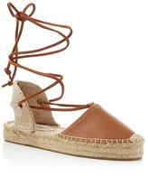 Soludos Gladiator Lace Up Platform Espadrille Sandals
