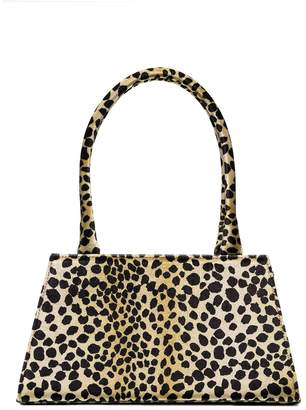 Rixo Dora leopard-print tote bag